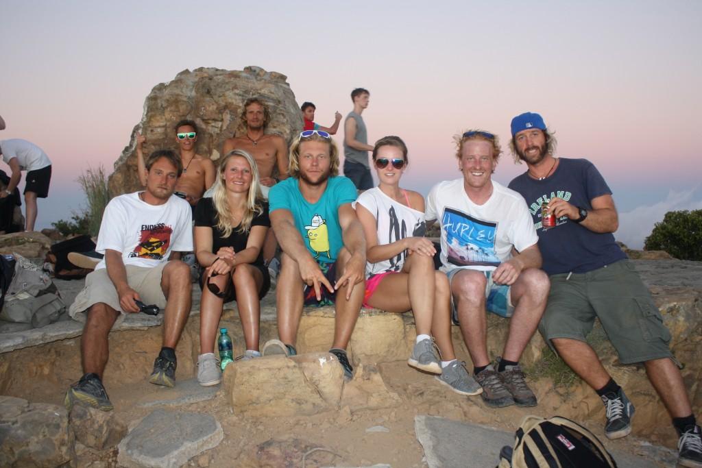 Unsere Gruppe auf dem Lion's Head